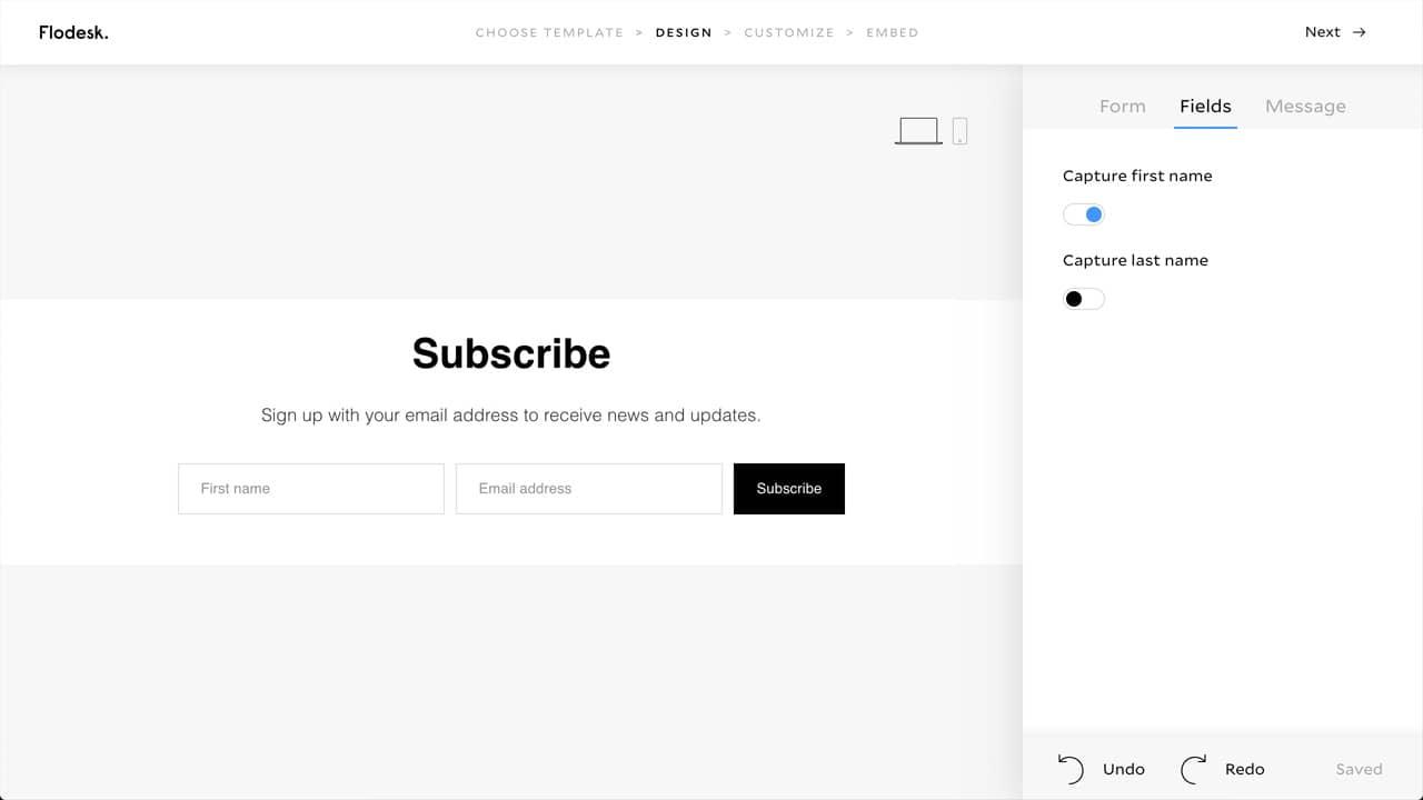 Setup MailerLite Newsletter